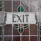 Exit Door, Royal Hall, Harrogate, England by exvista