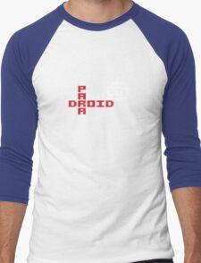 PARADROID - Paranoid Number (001) Men's Baseball ¾ T-Shirt