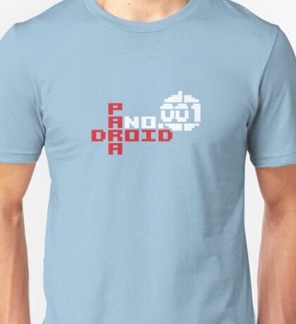 PARADROID - Paranoid Number (001) Unisex T-Shirt