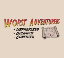 WORST ADVENTURERS - Slogan (english) by haegiFRQ