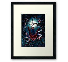 Spidey Dinamic Framed Print