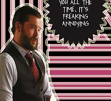 Frank Delfino [I think about you all the time] by thescudders