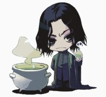 Severus Snape small cute by VirtualMan
