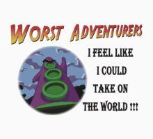 WORST ADVENTURERS - Purple Tentacle WORLD by haegiFRQ