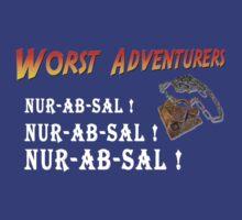 WORST ADVENTURERS - INDY Nur-Ab-Sal by haegiFRQ