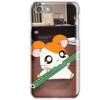 Hamtaro on my desk iPhone Case/Skin