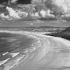 Rhossili Bay, Gower Peninsula by Justin Foulkes