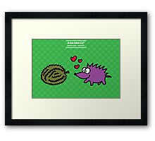 Durian Love Framed Print