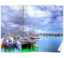 Shoreham Harbour West Sussex - HDR Poster