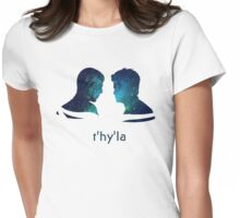 t'hy'la Womens Fitted T-Shirt