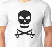 Skull and Crossed Swords Unisex T-Shirt