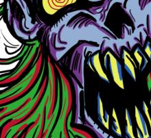 Retro Punky Undead Vampire Sticker