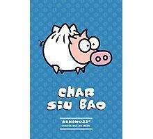 Dim Sum Pig - Char Siu Bao Photographic Print