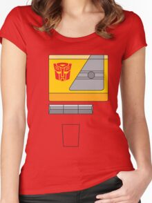 Blaster - Transformers 80s Women's Fitted Scoop T-Shirt