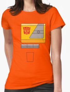 Blaster - Transformers 80s Womens Fitted T-Shirt