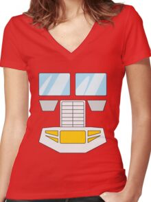 Optimus Prime - Transformers 80s Women's Fitted V-Neck T-Shirt