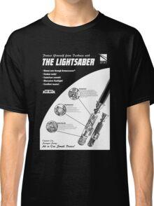 Star Wars Lightsaber Retro Ad Classic T-Shirt