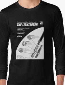 Star Wars Lightsaber Retro Ad Long Sleeve T-Shirt