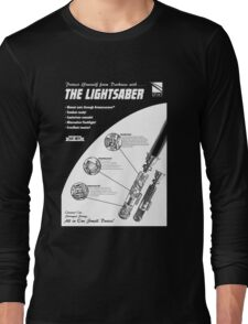 Star Wars Lightsaber Retro Ad Long Sleeve T-Shirt