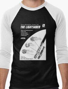 Star Wars Lightsaber Retro Ad Men's Baseball ¾ T-Shirt