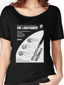 Star Wars Lightsaber Retro Ad Women's Relaxed Fit T-Shirt
