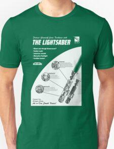 Star Wars Lightsaber Retro Ad Unisex T-Shirt