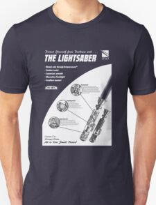 Star Wars Lightsaber Retro Ad Unisex T-Shirt