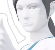 Smack Talkin' WII Fit Trainer Sticker
