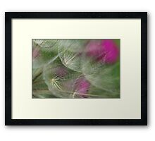 Ethereal Texture Framed Print