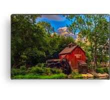 An Old Mill Canvas Print