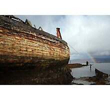 Desolate Boat Photographic Print