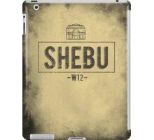 SHEBU Vintage iPad Case/Skin