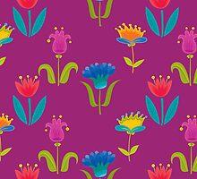 Floral Pattern by rusanovska