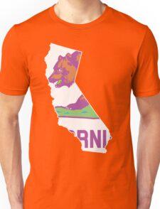 California State Outline [ Purp Green ]   SteezeFSC Unisex T-Shirt