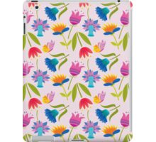 Decorative Tulips Pattern iPad Case/Skin