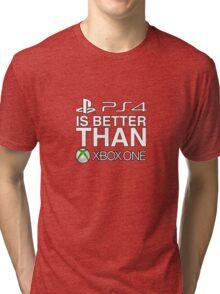 4 is better than 1 Tri-blend T-Shirt