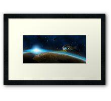 Space camper Framed Print