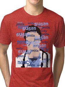 JD - Names Tri-blend T-Shirt