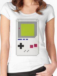 Dot Matrix with Stereo Sound Women's Fitted Scoop T-Shirt