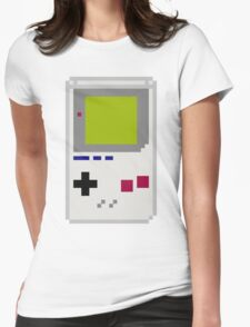 Dot Matrix with Stereo Sound Womens Fitted T-Shirt