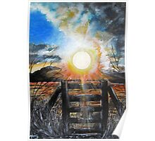 Sunrise over Bailey Dale Poster
