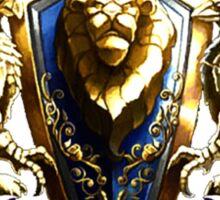 World Of Warcraft Alliance Sticker