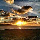 Amazing Cornish Sunset by Peter Barrett
