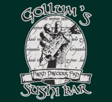 LOTR - Gollums Sushi Bar - Fresh Precious Fish (Clean Version) by MajorTees