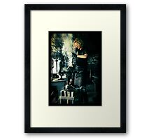 Blacksmith at work Framed Print