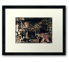 Blacksmith's office Framed Print