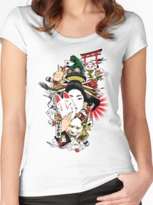 I Dream of Japan Women's Fitted Scoop T-Shirt