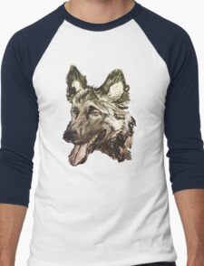 Wolf dog raw sketch T-Shirt