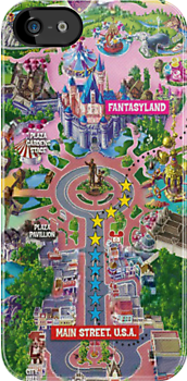 Disneyland Map by libbbyr