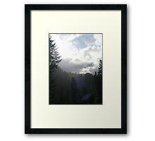 Liquid Sunshine Framed Print